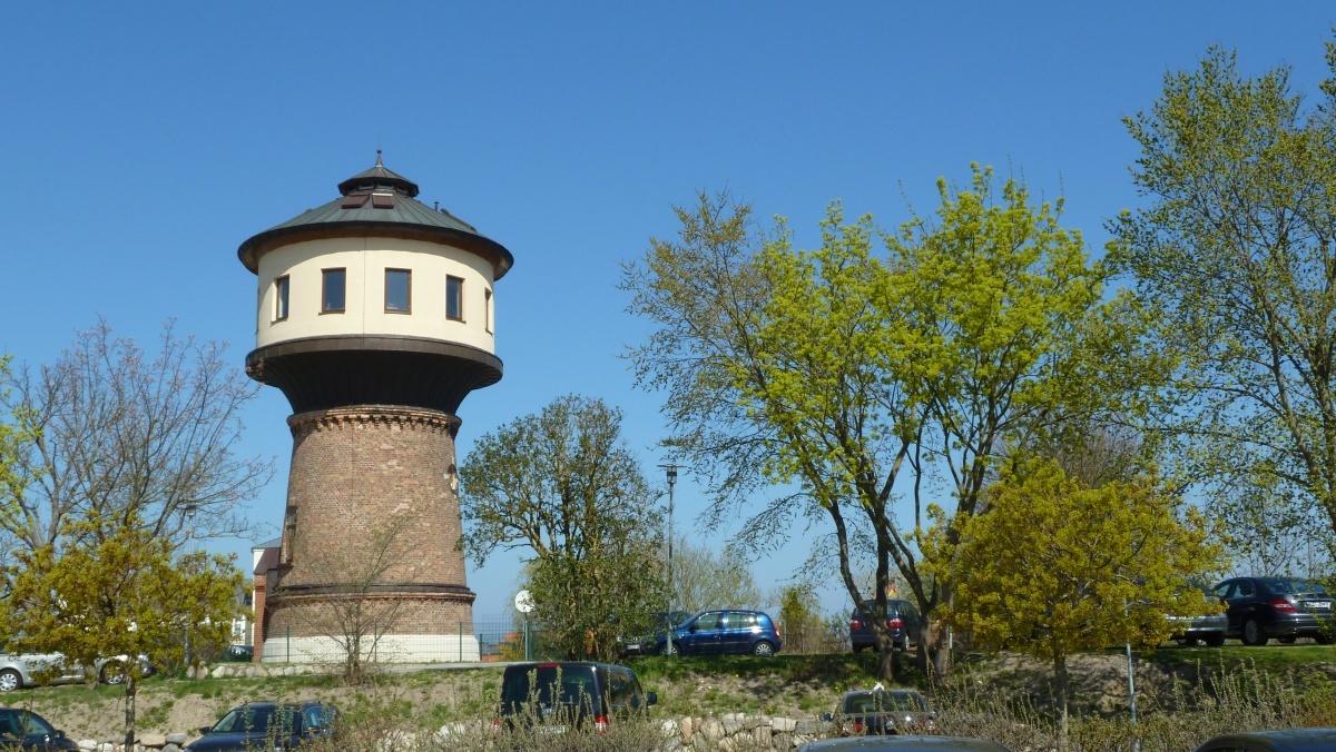 Der Wasserturm im Ostseebad Göhren