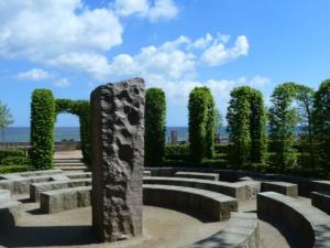 Das Labyrinth Im Kurgarten Des Ostseebades Göhren